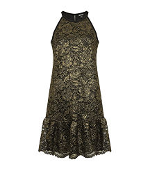 DKNYLace Drop Waist Dress